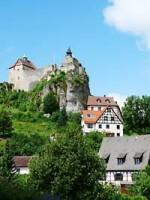 Burg Hohenstein in der Hersbrucker Schweiz